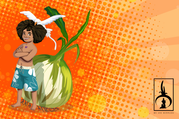 We Are Bermuda Character Logo Design